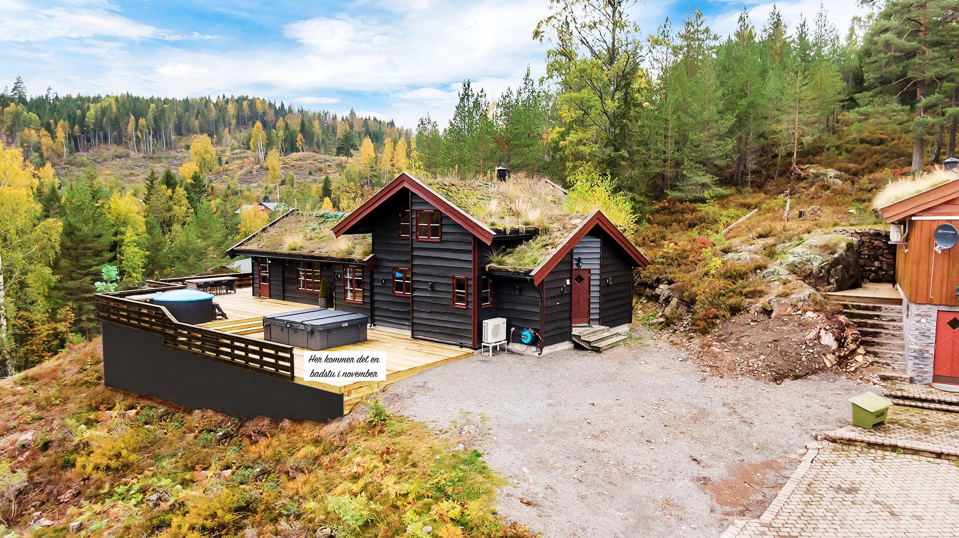 Lillelardal ligger i vakre omgivelser med fantastiske muligheter for gode naturopplevelser – i tillegg til mange og flotte fasiliteter på selve hytta.